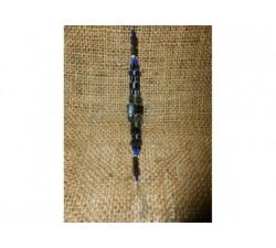 Collier graine Œil de Bœuf Savonnette Palmier