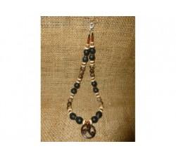 Bracelet Shiva Flamboyant Bois