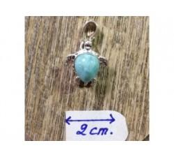 Magnet Doudou Fruit  bleu turquoise