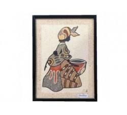 Magnet peinture Claire Pointe des Chateaux