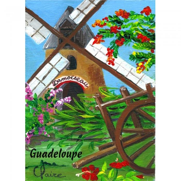 Magnet : peinture Claire - moulin