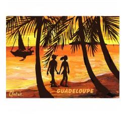 Magnet peinture Claire Plage