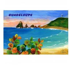 Magnet peinture Claire Pointe des Chateaux 1