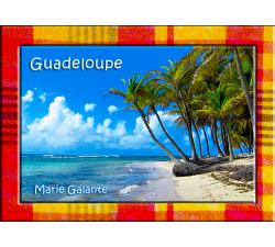 Magnet Photo - Contour Madras - Marie Galante 2
