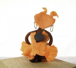 Magnet : doudou - orange - fruits