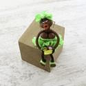 Magnet : doudou - vert fluo...