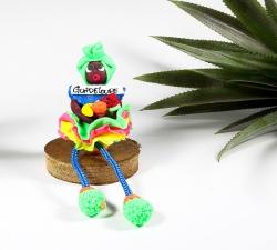 Magnet : doudou - robe froufrou - 2