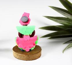 Magnet : doudou - robe froufrou - 3