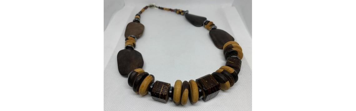 Collier fait à la main artisanat Guadeloupe
