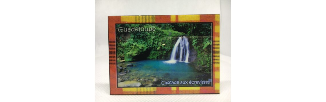 Magnets aimant photo Guadeloupe